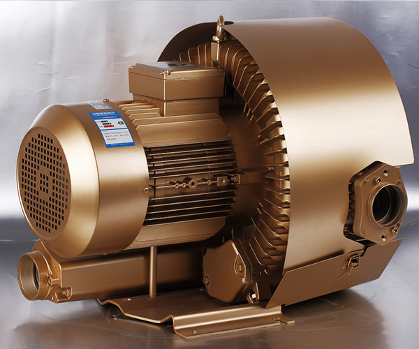 Single Phase Double Stage Side Channel Blower