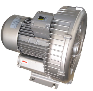 Big airflow Three Phase ring blower for plastic extruders